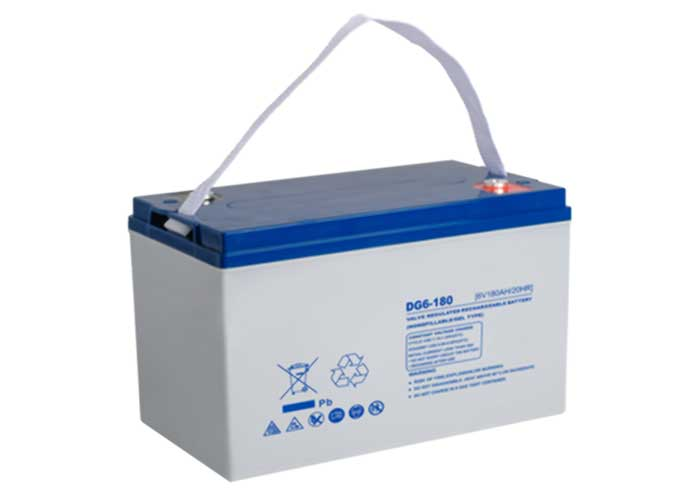 6V series UDG colloid deep cycle lead-acid battery