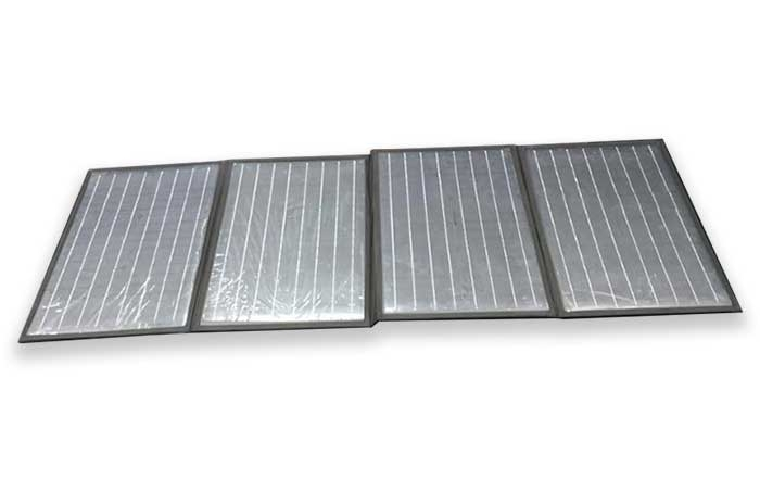 100W-18V monocrystalline silicon solar panel folding package