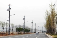 Wind And Solar Hybrid Street Light System