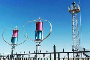 Inner Mongolia wind and solar hybrid monitoring system