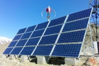 Wind and solar hybrid power supply system