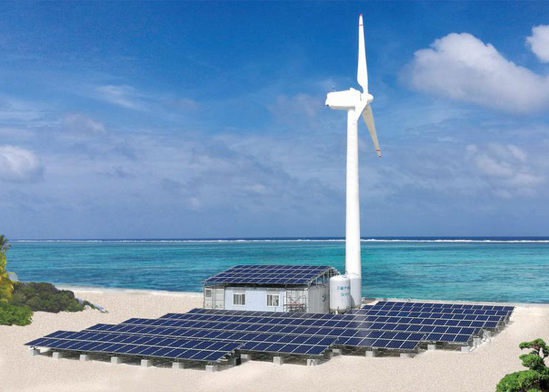 New Energy Seawater Desalination System