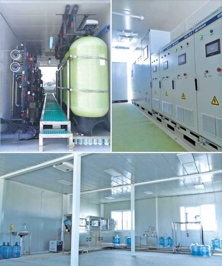 New Energy Seawater Desalination System of URILIC Equipment